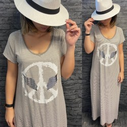 ROBE EH412 TAUPE