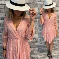 ROBE SHORT EE49 ROSE