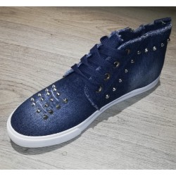 BASKETS GALENTINO BLUE JEANS