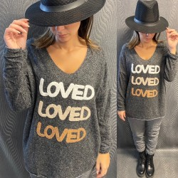 PULL EH10 GRIS