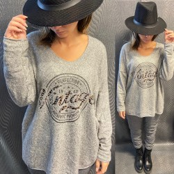 PULL EH12 GRIS