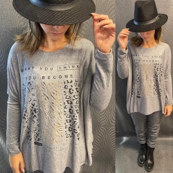 PULL EH15 GRIS